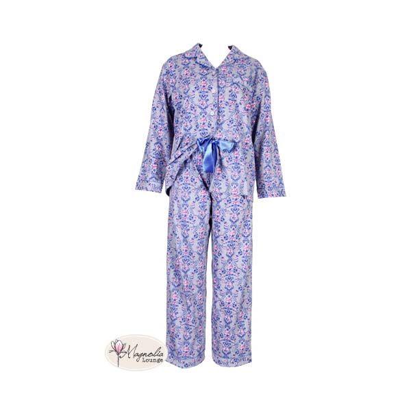 Rose Motif Pyjamas by Magnolia Lounge   Pyjamas.com.au