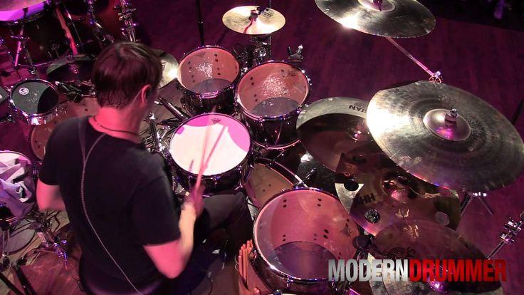 "VIDEO - Korn Drummer Ray Luzier Performing ""Gun Fight"" by KXM at Drum Daze 2014 #Korn #RayLuzier #drums #drummer #drummers #drumming #modern #moderndrummer #modern_drummer #music #vid #clip"