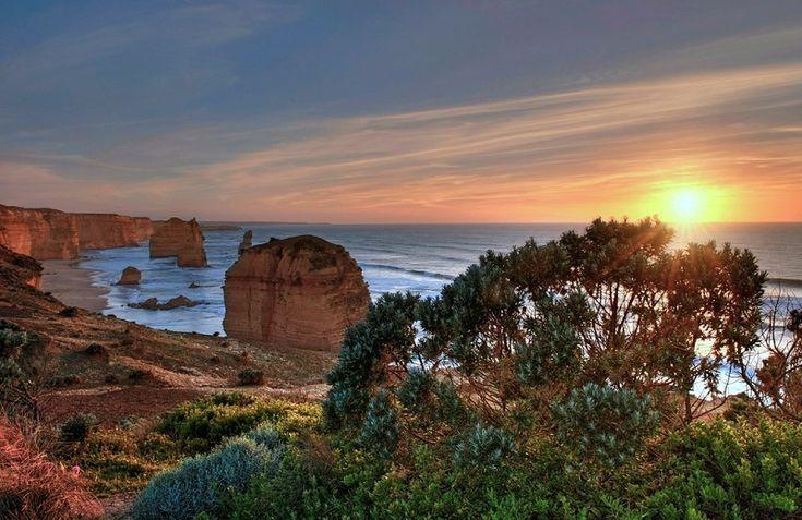 Национальный парк Порт Кэмпбелл в штате Виктория, Австралия.