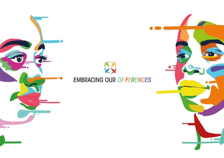 Embracing Our Differences billboard design.   By: blaqpicasso, 2015