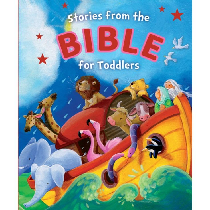 Stories From The Bible For Toddlers (Board Book)