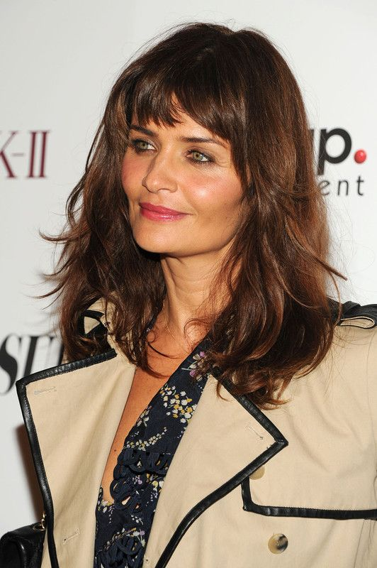 length haircuts for 3584 best helena christensen images on 3584