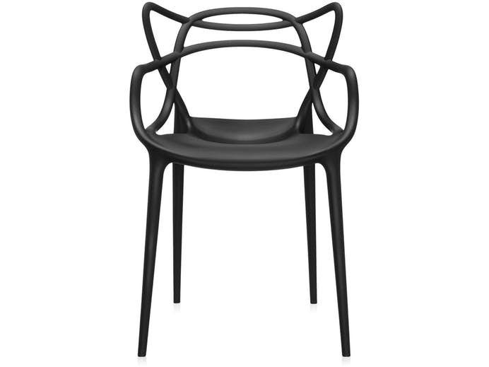 Krzesło Masters czarne Kartell