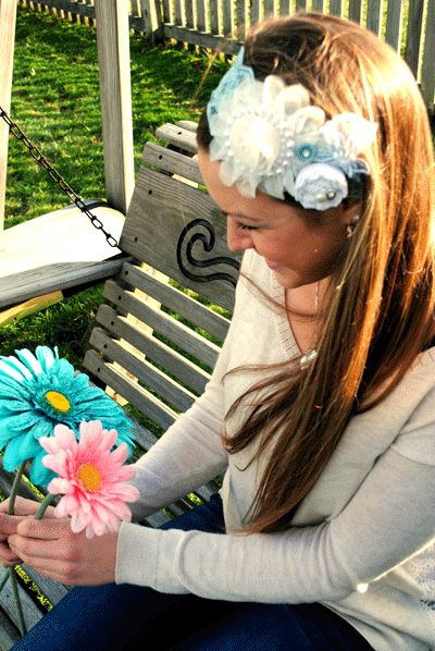 Check out All Things Crafty handmade laceheadband! variety001 $18.00 www.allthingscrafty-atc.com