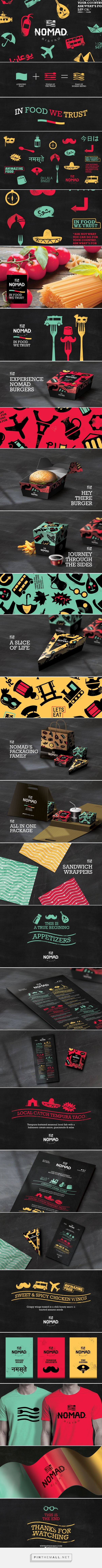 Nomad Bistro Branding by Studio AIO on Behance | Fivestar Branding – Design and Branding Agency & Inspiration Gallery