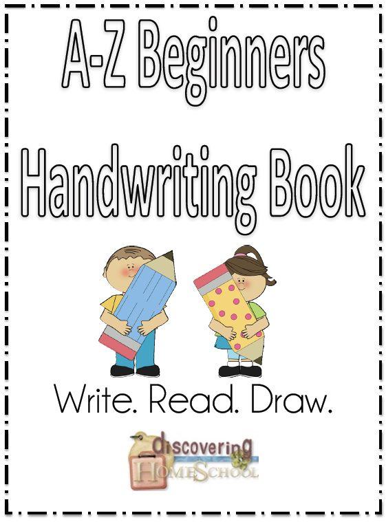 Free A-Z Beginners Handwriting Book