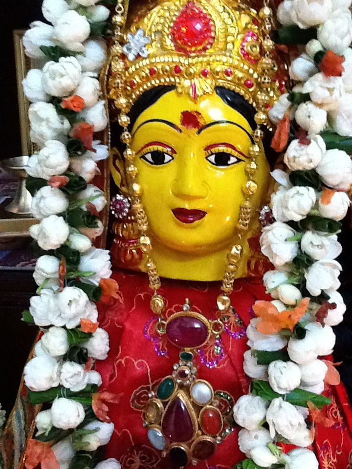 varalakshmi vratham decoration