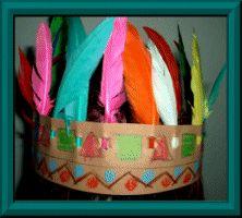 Indianer-Stirnband