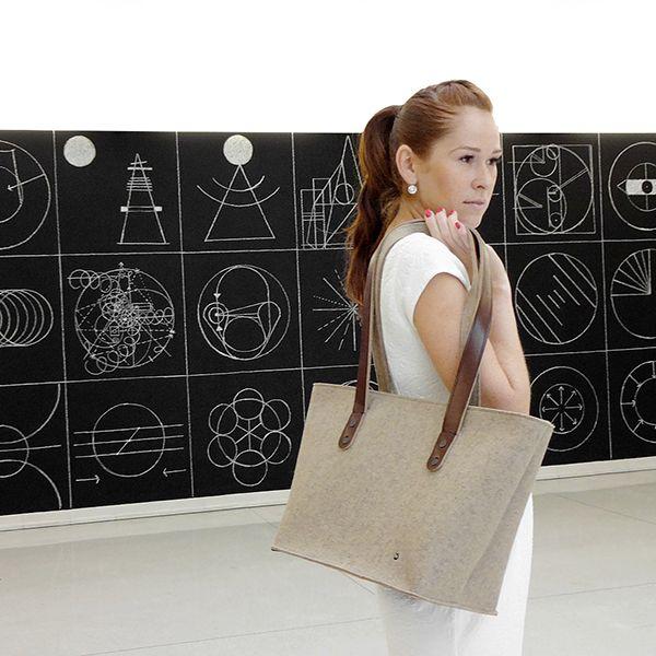 shoulder bag - ANNA - sahara 1