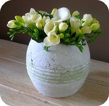 bloemschikken bloemstukje maken stap voor stap met uitleg en foto's bloemstukken maken
