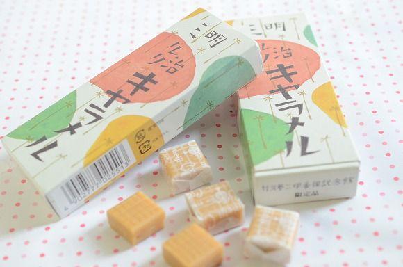 【かわいい群馬】伊香保限定のレトロな「明治ミルクキャラメル」 / 竹久夢二デザインのパッケージに乙女の浪漫がはじけます♪