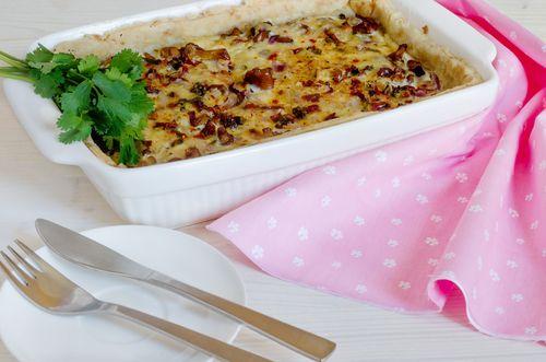 מתכון פשטידת פטריות נפלאה - פשטידת פטריות נפלאה מתכון מצוין לפשטידת פטריות טעימה…