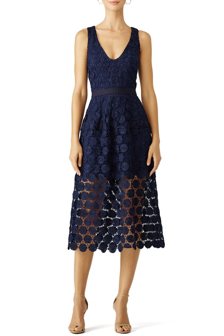 Rent Blue Ceiba Dress by Trina Turk for $40 only at Rent the Runway.