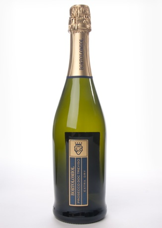 a dry prosecco. always a good thing.