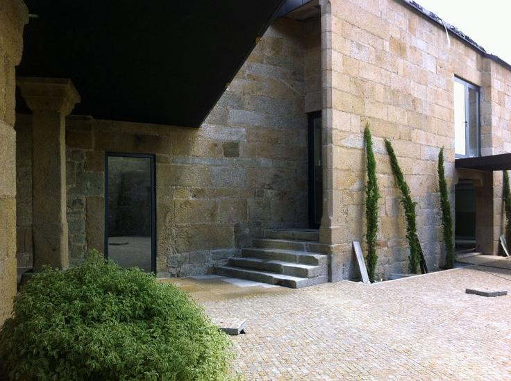 obra reabilitação| QUINTA DE STA. CRUZ  Paços de Ferreira  2012    www.artspazios.pt