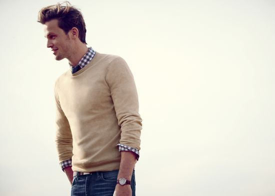 J crew men 39 s crewneck cashmere to preorder call 800 261 for J crew mens looks