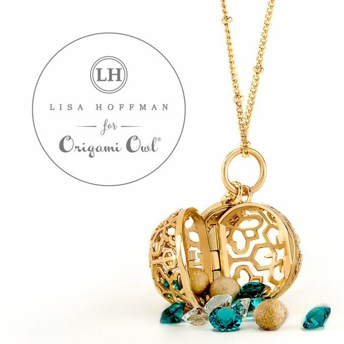 I'm all about sparkle and I love how you can style this new collection, Lisa Hoffman for Origami Owl, with Swarovski Crystals and the Fragrance Beads of your choice. www.fb.comhttps://www.facebook.com/groups/facethedaywithstyle/