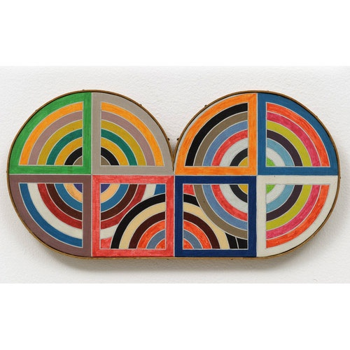 1000 images about frank stella art minimalism on for Frank stella peinture