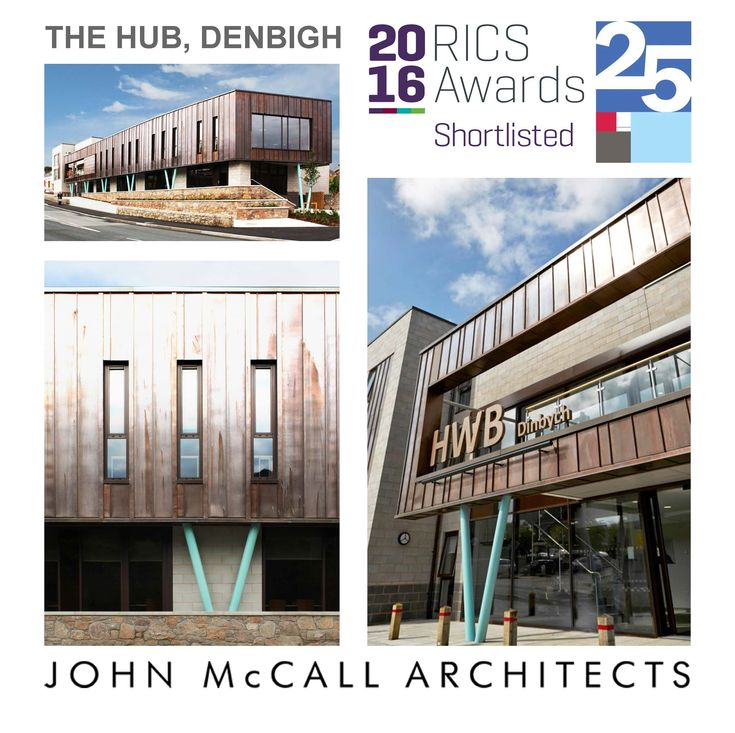 Denbigh Hub shortlisted for RICS awards, John McCall Architects