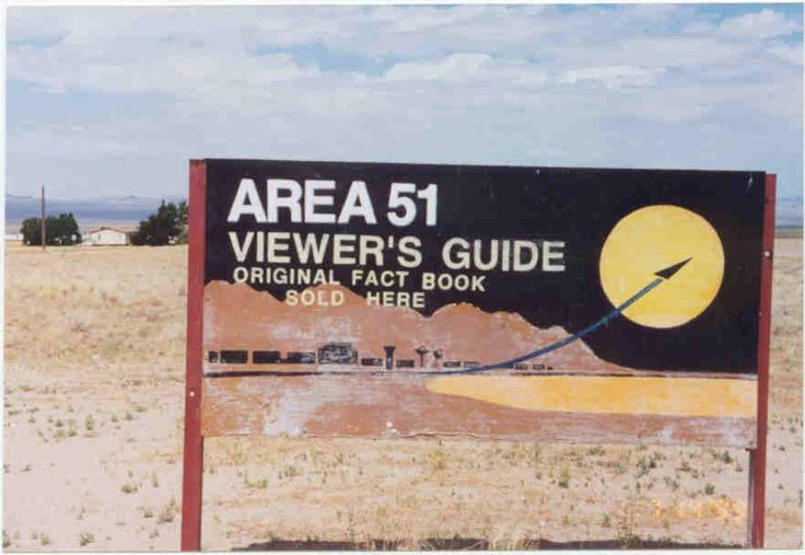area 51 viewer's guide sign - Google Search