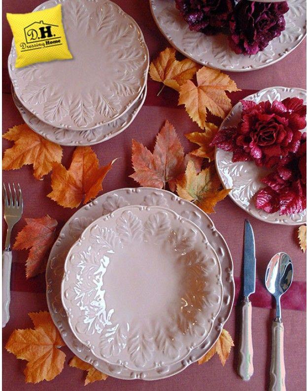 Servizio piatti in stile Shabby Chic della Blanc Mariclo' Ramage Collection