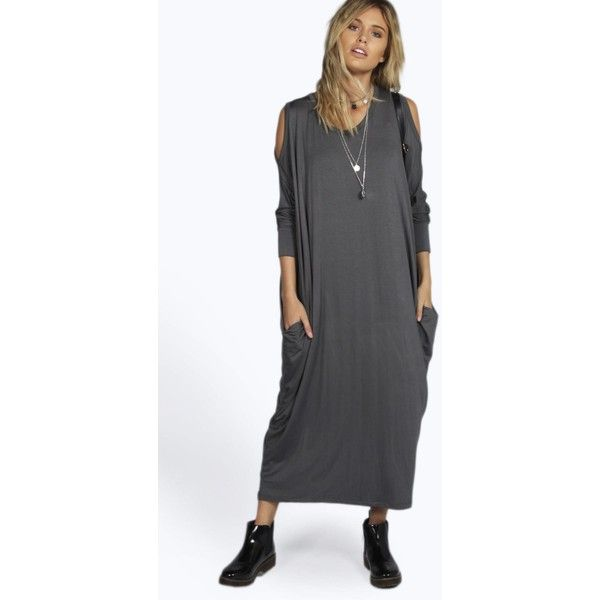 maxi dress layering for cold