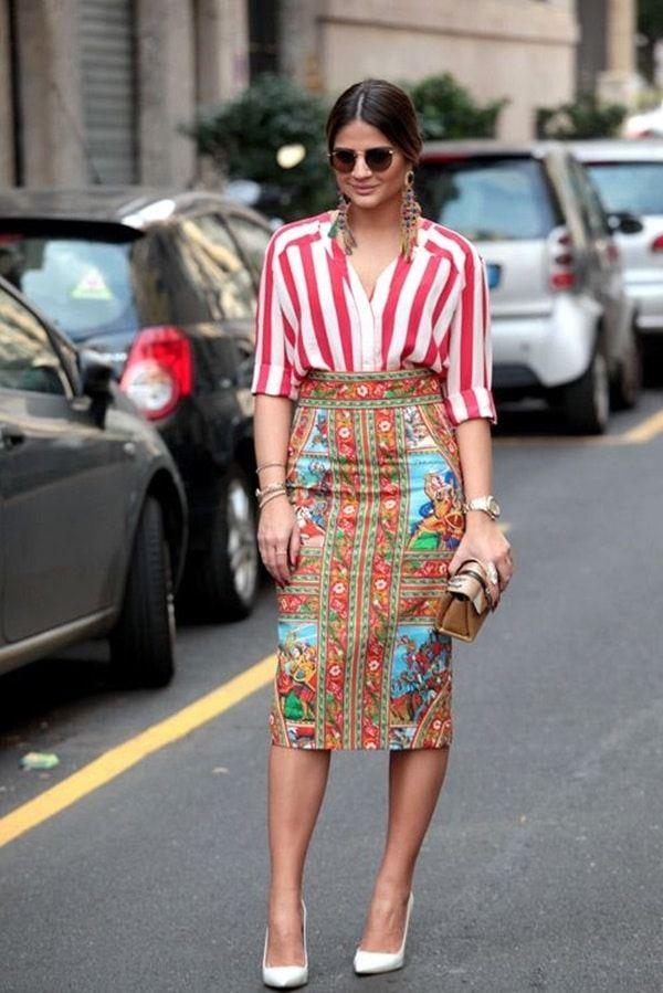 Perfect Mixed Print Outfits to Dress Like a Fashion Pro (3)