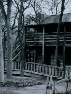 Haunted - Log Cabin Village in Fort Worth, Texas. Visitors hear footsteps  in the attic and the scent of lilacs in the air.lots of paranormal  activities ...