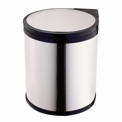 """RONA: Swivel Wastebin 12 L Model #TM-13-R-C Format 11"""" $61.99"""