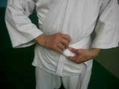 Как завязывать пояс козацкий костюм