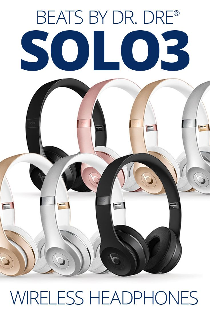 Beats by Dr. Dre® Solo3 wireless A one-tap connection syncs up your compatible iPhone with these headphones, wirelessly. Then, you're automatically paired to other devices on your iCloud account, like your Apple Watch®, iMac®, or iPad®. The W1 chip ensures a strong, seamless connection.