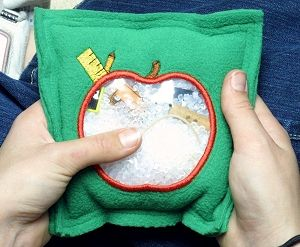 Simple Sewing Project- DIY I-Spy Bag