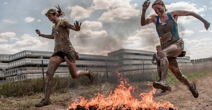 Whether you want to run for doughnuts or while eating hot dogs, wearing a costume or in the... http://greatist.com/move/incredible-themed-races