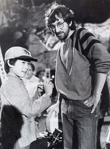 Jonathan Ke Quan & Steven Spielberg - Indiana Jones and the Temple of Doom