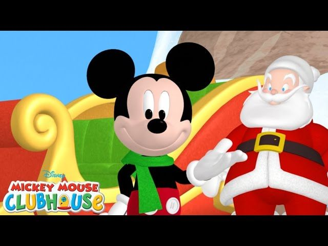 Mickey Saves Santa   Full Episode   Mickey Mouse Clubhouse   Disney Junior: Mickey and the rest of the Clubhouse gang are ready to…