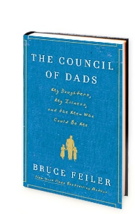 """The Council of Dads - Bruce Feiler: As a young father diagnosed with cancer, Bruce Feiler invited 6 men to form a """"Council of Dads"""" to help guide his daughters through life.Bruce Feiler, Aggressive Form, Fathers Diagnosing, Dads Kindle, Cancer Reach, Bones Cancer, Awesome Group, Feiler Invitations, Fathers Diagons"""