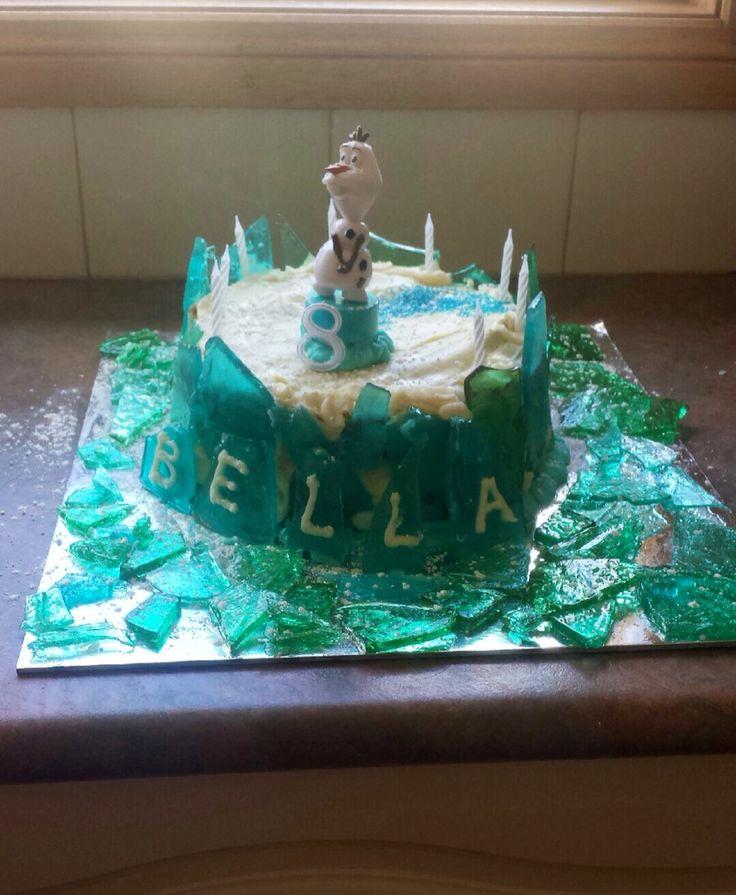 Belles 8th birthday cake