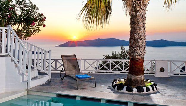 Udsigt fra hotel Cliff Side i Grækenland. Se mere på www.bravotours.dk @Bravo Tours #BravoTours #Travel