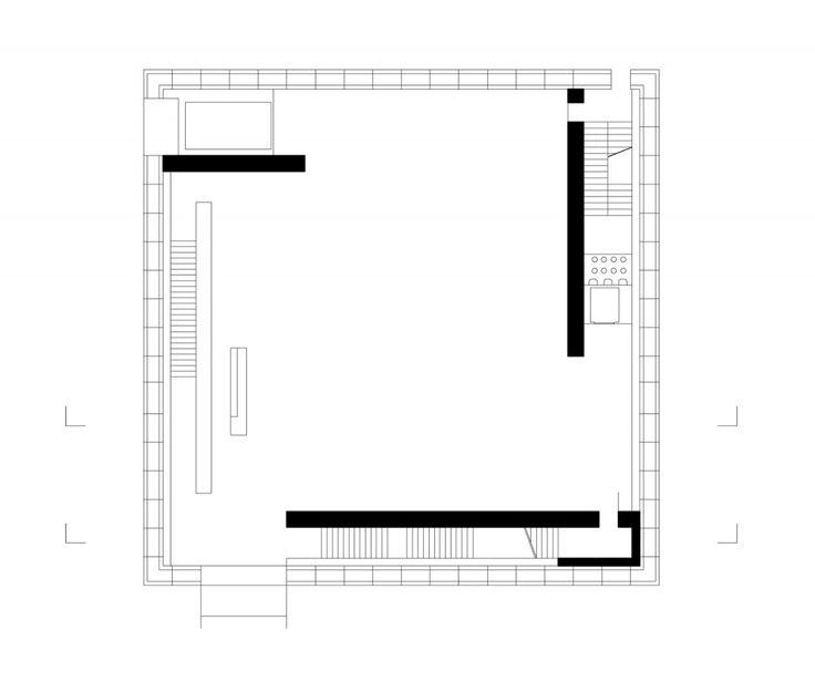 Art Museum Bregenz plan 01 / Peter Zumthor Drawings
