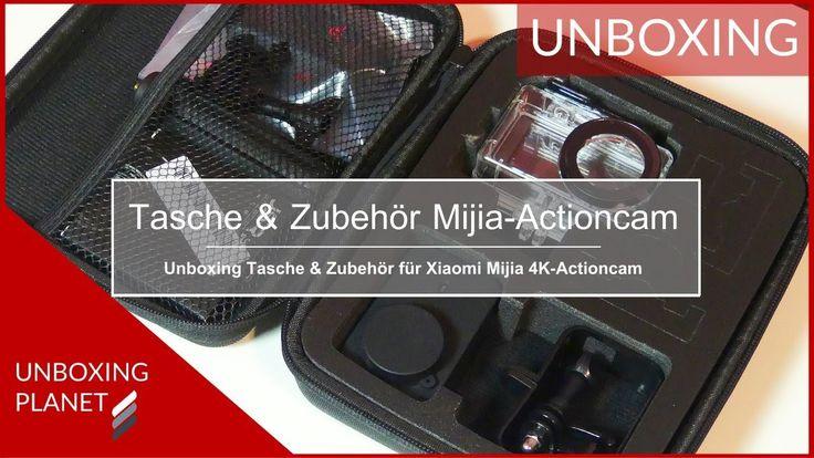 Video über Tasche mit Zubehör für Xiaomi Mijia 4K-Actioncam #tasche #zubehör #xiaomimijia4kactioncam