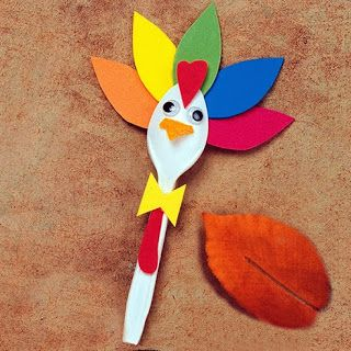 Bear Hugs Baby: Thanksgiving Crafts for Kids {Part 2}