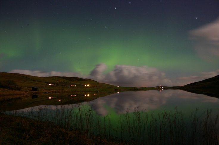 Aurora over Tingwall
