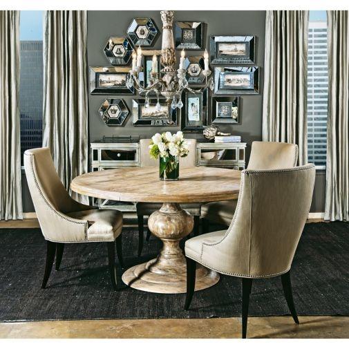 Magnolia Round Dining Table Middagsserviser Stoler Og Lys