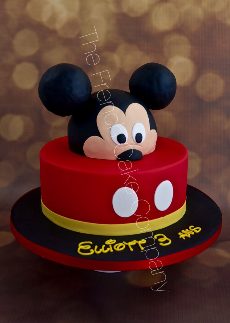 Gateau Tete De Mickey Facile Home Baking For You Blog Photo