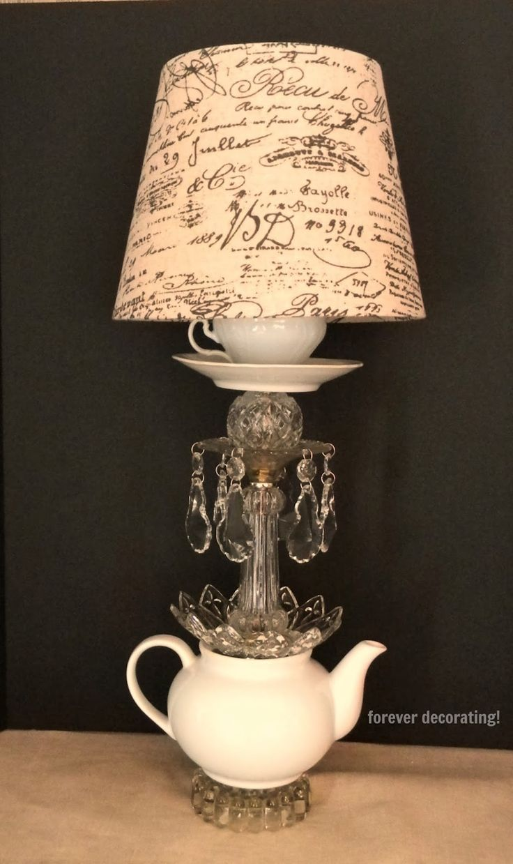 diy home decor pictures 1000 ideas about teapot lamp on lamps lace 10748