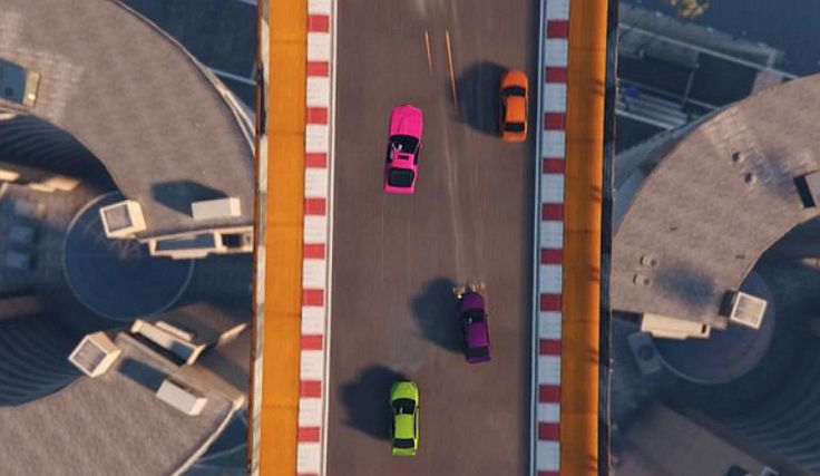 GTA Online's Tiny Racers is a retro-inspired stunt racing mode with a top-down view