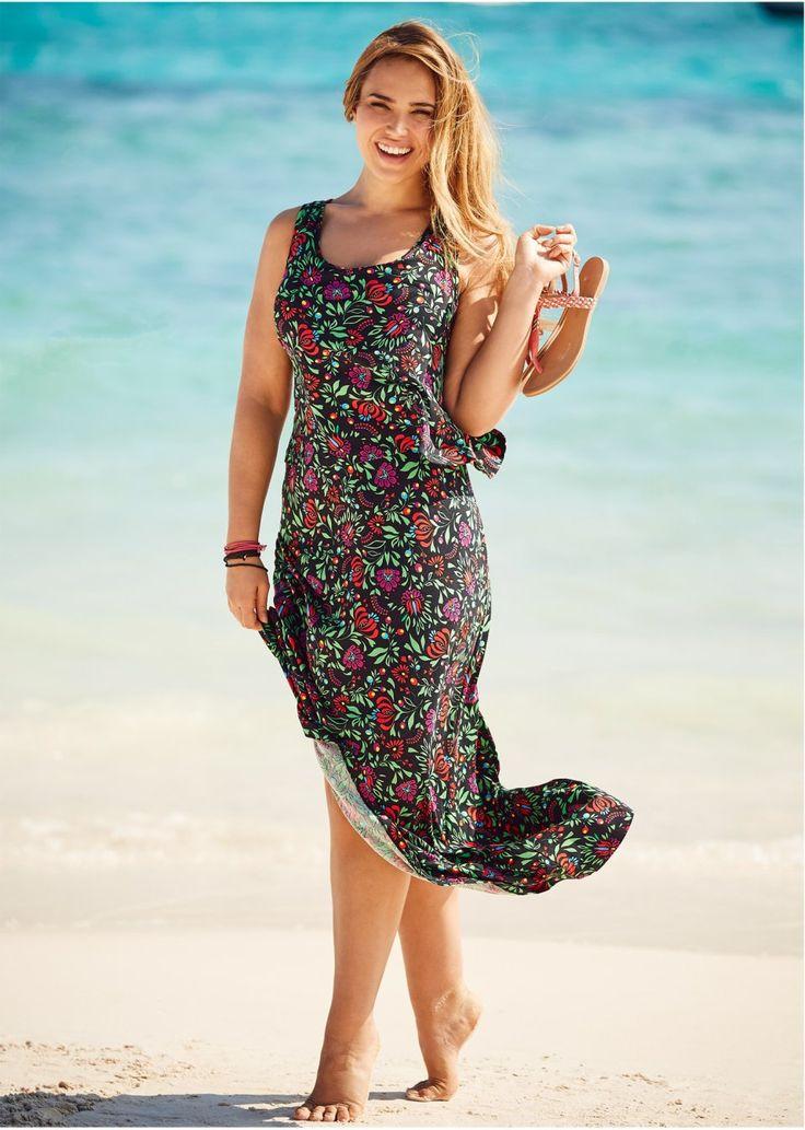 Sukienka warstwowa Z miękko lejącego • 119.99 zł • bonprix