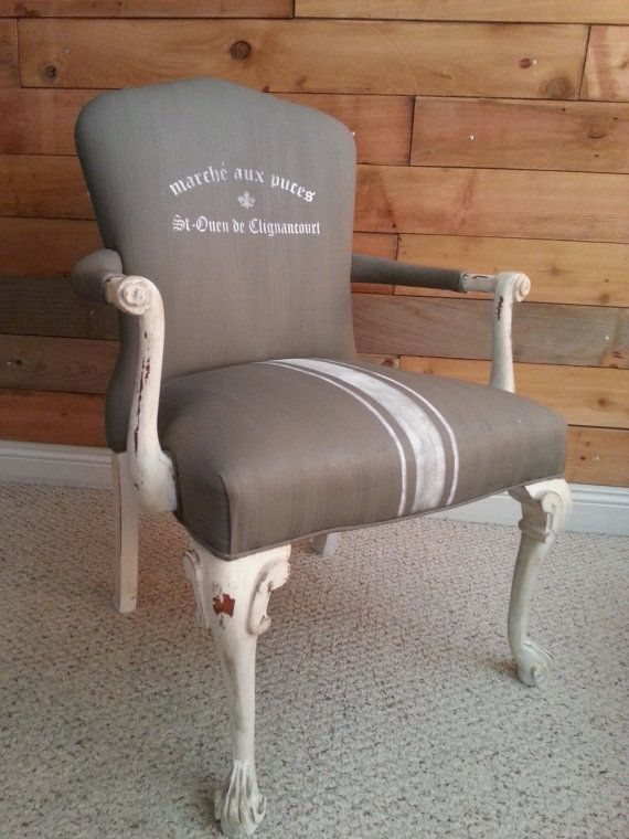 Gorgeous Shabby Chic Vintage Chair  Redone by LightandFurniture, $550.00