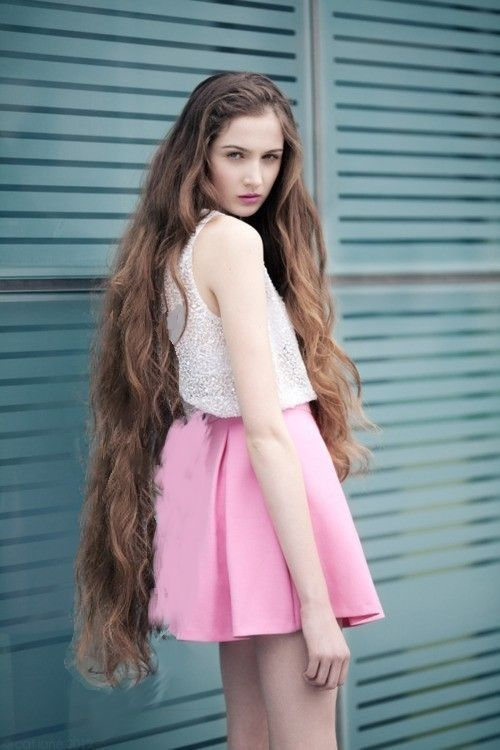 Long Hair Short Skirt 44