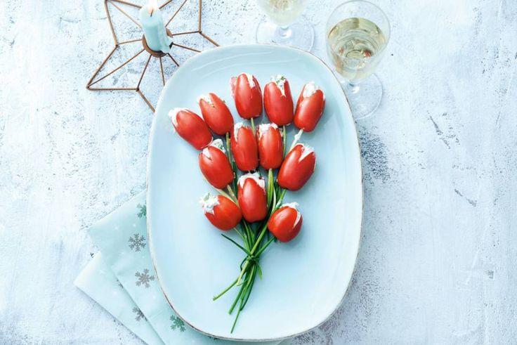 Het lijkt misschien ter decoratie, maar deze bloemen zijn echt om op te eten. En hartstikke leuk om te maken! - Recept - Allerhande